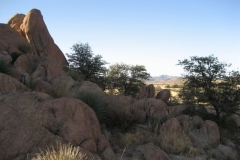 Dragoons to West Cochise Stronghold Trails (3B)