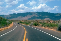 Roads in Tucson Arizona