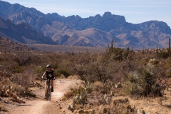 Upper Chiva Trail Down to Tucson Arizona