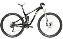 a picture of TREK mountain bike with full suspension