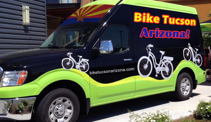 Green Valley Bike Rentals Van