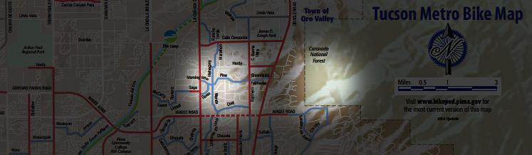 Tucson Bike Rentals Road BikeCycling Tucson Arizona Maps