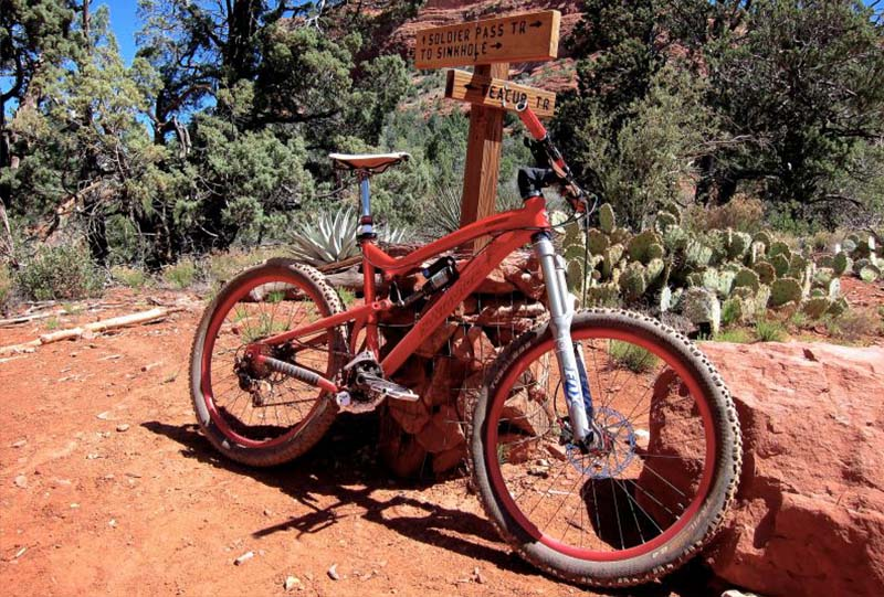 Golder Ranch Mountain Bike Trails