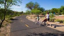 Tucson's Loop River Path